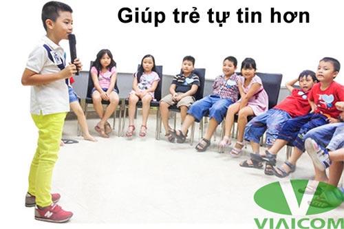 giúp trẻ tự tin hơn