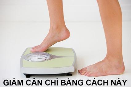 giảm cân chỉ bằng 1 cách này - Giảm cân tại nhà chỉ bằng 1 cách này
