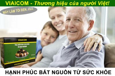 hạnh phúc bắt nguồn từ sức khỏe 1 - Tỏi Đen SẠCH thương hiệu VIAICOM Giảm Giá Quá Rẻ (500gram)