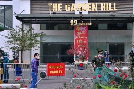 hn8 2 - Covid-19 ngày 8/2: Hà Nội tiếp tục có 2 ca dương tính tại tòa nhà Garden Hill
