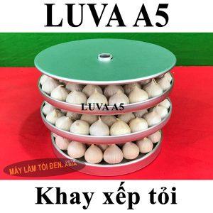 Khay xếp tỏi nồi làm tỏi đen LUVA A5