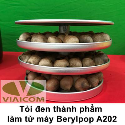 khay tỏi đen 1 - Máy làm tỏi đen Berylpop A202