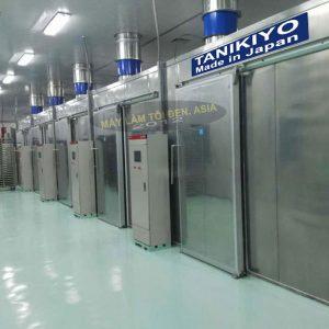 Hệ thống máy sấy tỏi công nghệ Nhật Bản