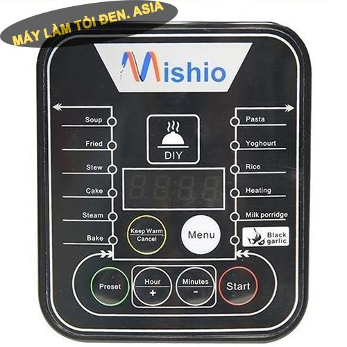 may lam toi den mishio mk10 man hinh LCD - Nồi làm tỏi đen Mishio MK10