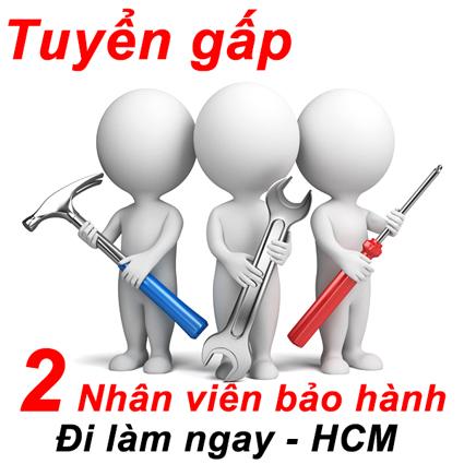 nhan vien bao hanh - Tuyển gấp 12 NV bảo hành kiêm đóng hàng tại VP Quận 9
