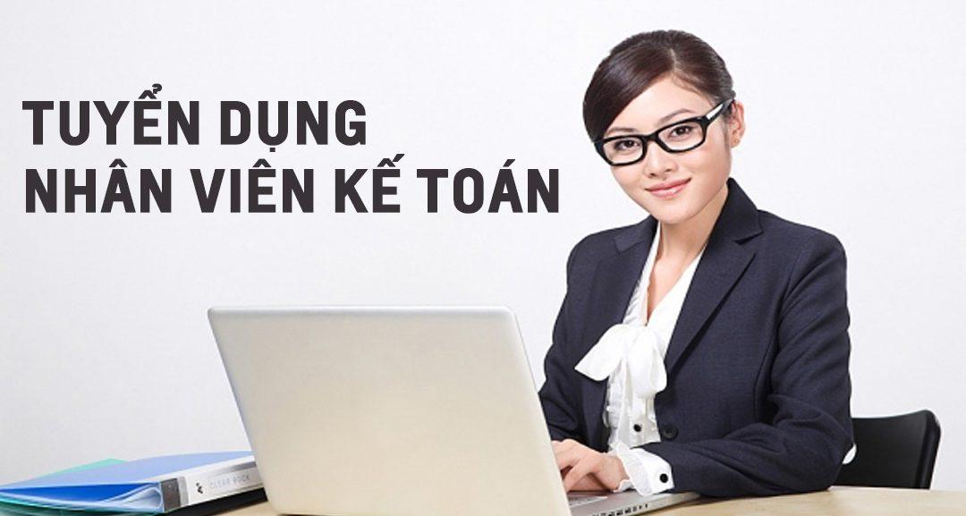 nhan vien ke toan 1080x577 - Tuyển Dụng - Việc Làm cho 08 NV kế Toán Tổng Hợp Tại Hải Phòng