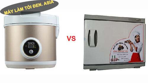 noi dien lam toi den sunca - So sánh máy lên men tỏi đen SUNCA Model SF G100 và Model VN05