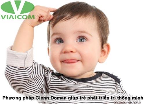phương pháp Glenn Doman giúp trẻ phát triển trí thông minh