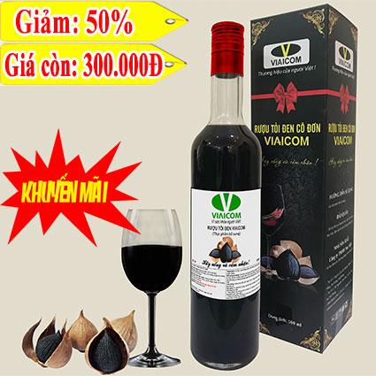 rượu tỏi đen VIAICOM 1 - Rượu tỏi đen cô đơn VIAICOM (loại 1)