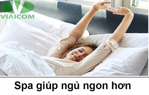 spa giúp ngủ ngon