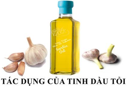 tác dụng của tinh dầu tỏi - Tác dụng của tinh dầu tỏi