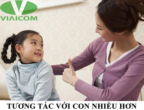 Tương tác với con