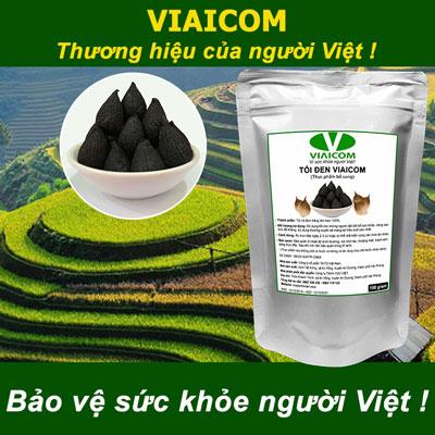Tỏi đen Viaicom - Bảo vệ sức khỏe người Việt