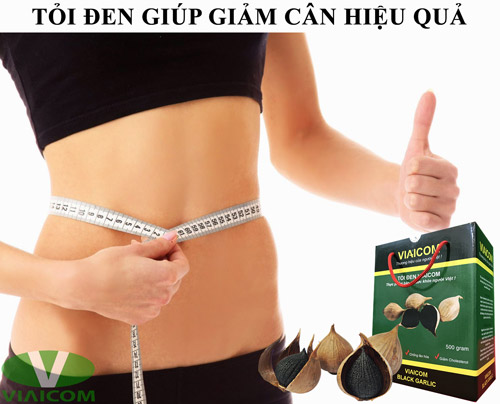 Tỏi đen giúp giảm cân hiệu quả