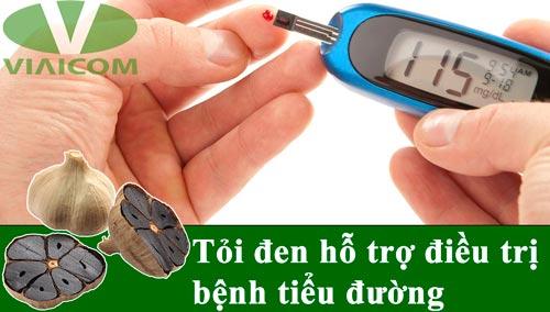 Công dụng của tỏi đen hiệu quả với tiểu đường