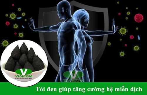 Tỏi đen giúp tăng cường hệ miễn dịch