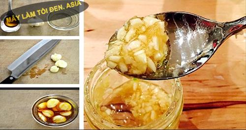 Tác dụng của mật ong ngâm tỏi