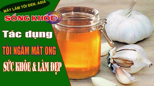 tác dụng của tỏi ngâm mật ong