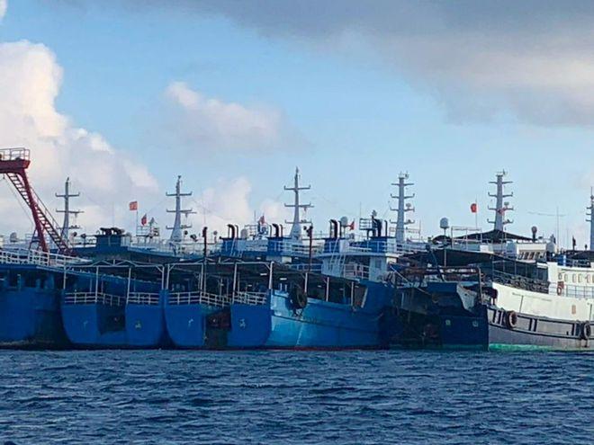 taudqtq qsbf - Philippines cảnh báo ý đồ mở rộng chiếm đóng Biển Đông của Trung Quốc