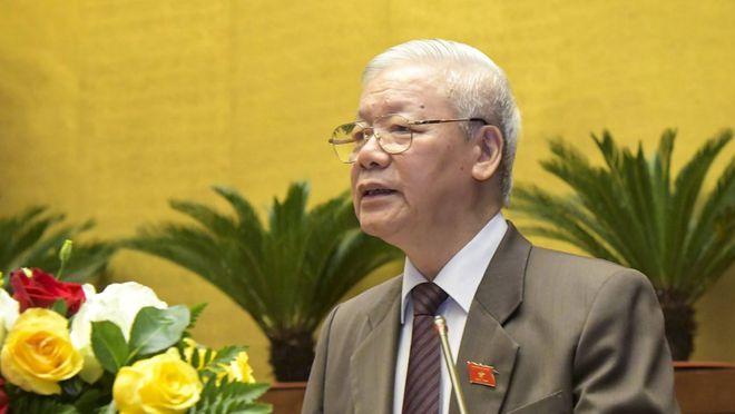 tbt2cctnnguyenphutrong kfzi - Tổng bí thư, Chủ tịch nước Nguyễn Phú Trọng trình miễn nhiệm Thủ tướng Nguyễn Xuân Phúc