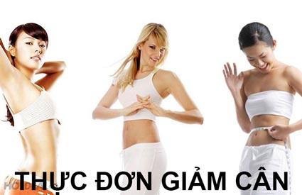 thực đơn giảm cân - Thực đơn giảm cân nhanh thậm trí bạn không cần tập luyện