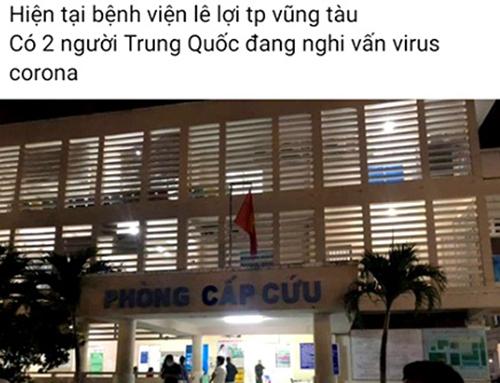 Bị triệu tập vì phát tán tin virus corona sai sự thật