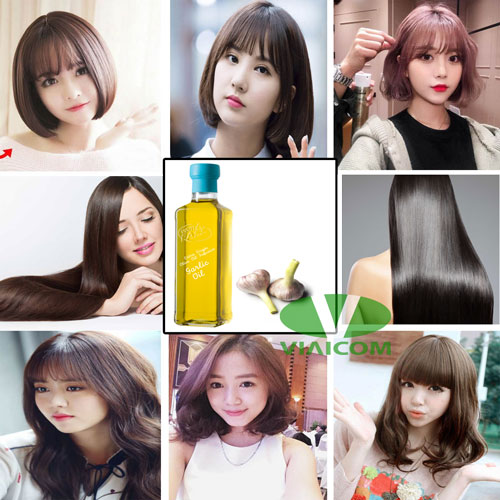 Tinh dầu tỏi có tác dụng chăm sóc tóc rất tốt