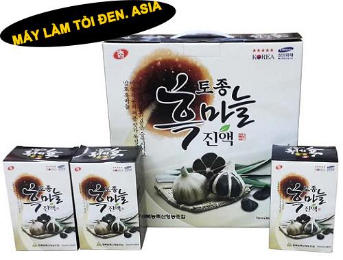 toi den black garlic cua han quoc - Giá tỏi đen của các loại tỏi phổ biến trên thị trường hiện nay !