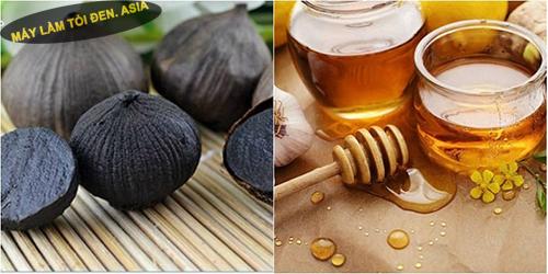 Sự kết hợp của mật ong và tỏi đen rất tốt