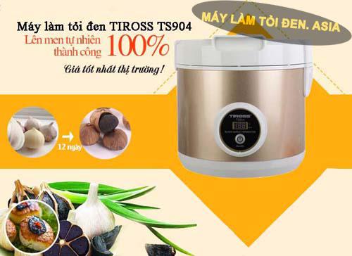 uu diem may TIROSS 1 - Các loại máy làm tỏi đen gia đình tốt nhất trên thị trường hiện nay !
