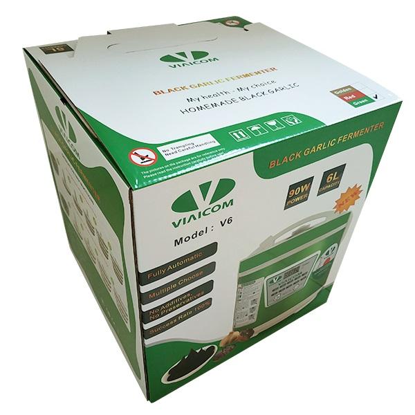 vỏ thùng - Máy làm tỏi đen VIAICOM V6 - 6 lít - Công Nghệ Nhật Bản Mới Nhất