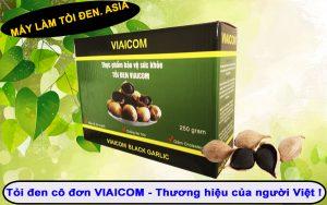 tỏi đen cô đơn viaicom thương hiệu của người VIệt